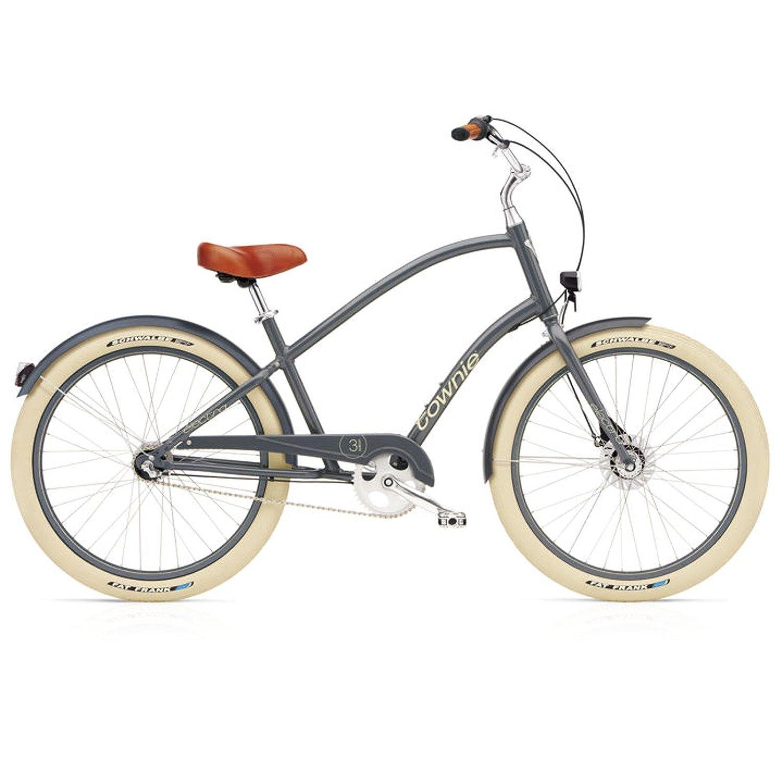 Electra Townie Balloon 7i EQ Herren Fahrrad 26' Beach Cruiser 7 Gang Grau, 514469