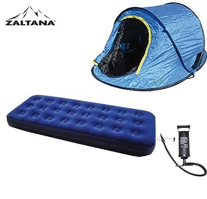 Amazon.com: Pop Up Tienda de campaña con aire colchón ...