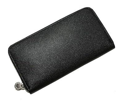 bd317db56cf0 [ブルガリ] 長財布 ラウンドファスナー グレインカーフ (ブラック) 20886 BG-78F