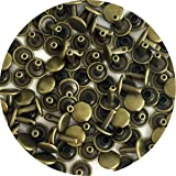 Springfield Leather Company's Antique Brass Medium Double Cap Rivets 100pk