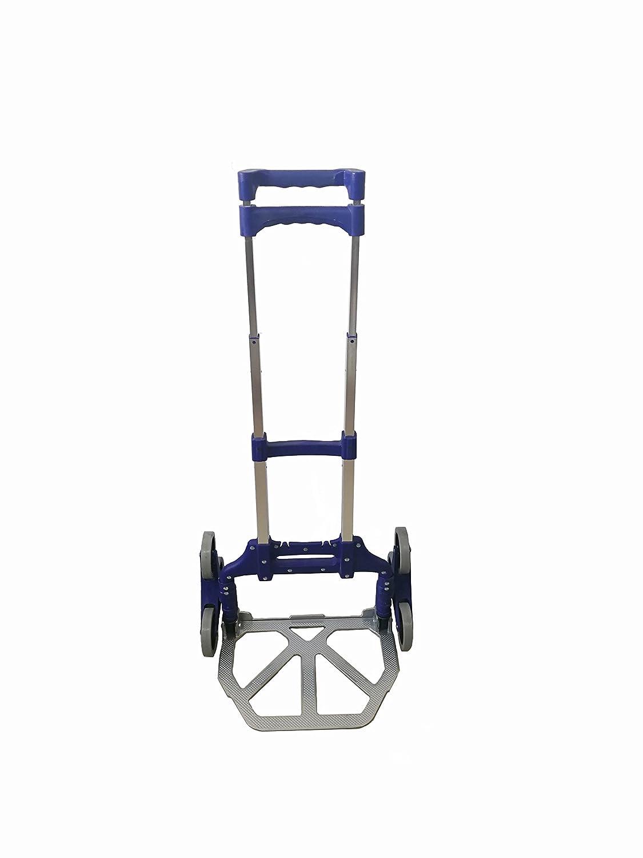 Portable Multi-Wheeled Foldable Stair-Climbing Trolley Capacity 153Lbs YongKang JinDing Machine Electricity Co .Ltd