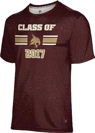 Heather ProSphere Texas State University Graduation Mens Performance T-Shirt