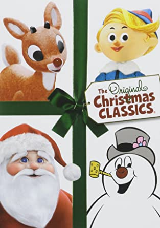 the original christmas classics gift set with frosty rudolph and santa - Christmas Classics Dvd