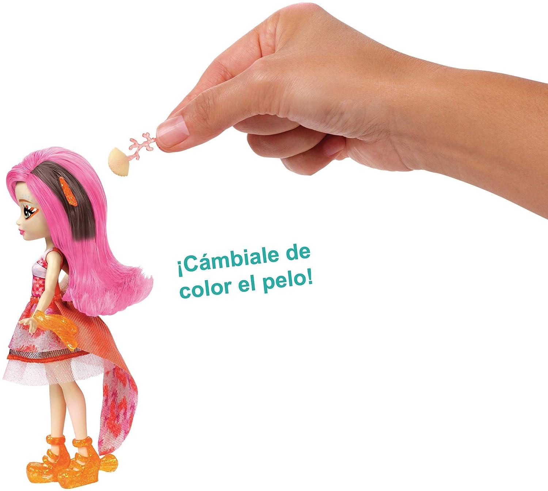 Amazon.es: Enchantimals Muñeca acuática Clarita Clowfins (Mattel FKV56): Juguetes y juegos