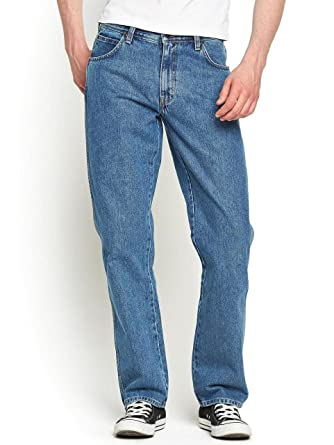 976433e8 Wrangler Durable Basic Regular Fit Stonewash: Amazon.co.uk: Clothing