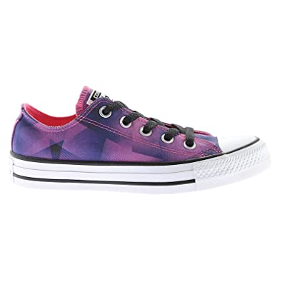 Converse Chuck Taylor All Star Ox Pink Pow Black Womens Canvas Low top Trainers