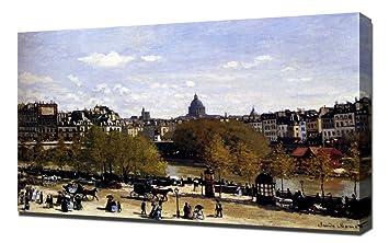 38ab9d502a6 Amazon.com  Lilarama Claude Monet - The Quai Du Louvre Paris85 ...