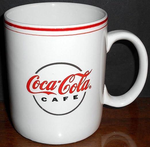 BRAND NEW Coca-Cola Thermal Metal Coffee Cup Mug with Lid