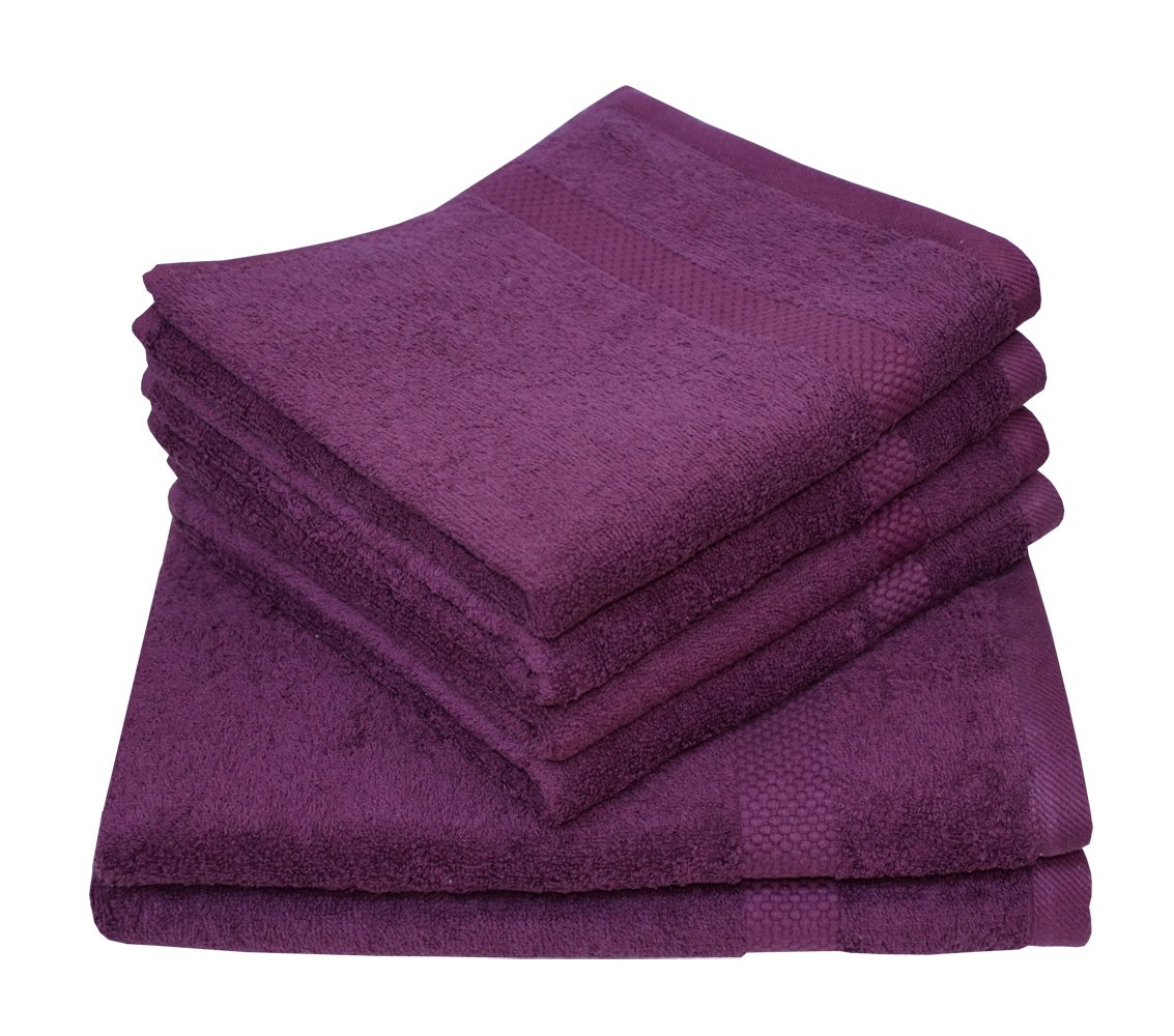 Dyckhoff Planet Plain Organic Terry Cloth Towel Range, Wash Glove/Face Cloth/Guest Towel/Hand Towel/Bath Towel, Beach Towel, Bathroom Rug - Available in Various Colours, brown, 50x80 cm Dyckhoff GmbH