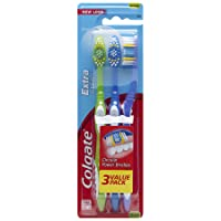 Deals on 3-Pack Colgate Extra Clean Full Head Toothbrush Medium