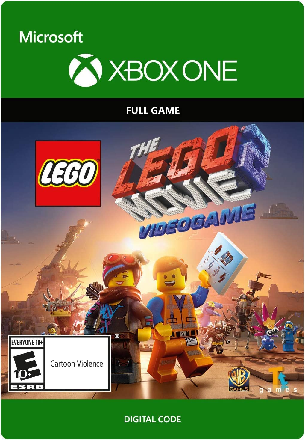 Amazoncom Lego Movie 2 The Video Game Xbox One Digital Code