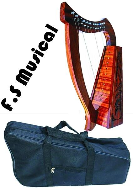 Amazon.com: Celtic - Arnés de 12 cuerdas para llavero de ...