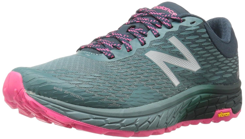 New Balance Women's Hiero V2 Trail Running Sneaker B01FSIWL5U 8 D US|Typhoon/Supercell/Alpha Pink