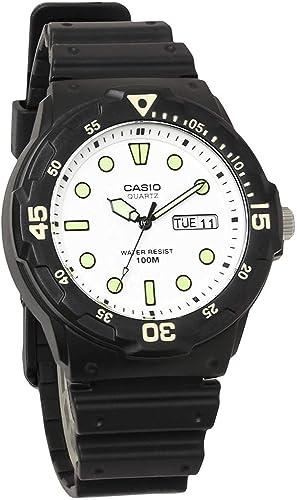 Casio chipukashi reloj analógico barato del buzo de Casio watch-style hombre mrw-200h-7e uretano cinturón: Amazon.es: Relojes