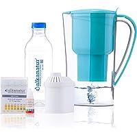Jarra Alkanatur Drops. Alcaliniza, depura e ioniza agua. pH hasta 9,5. Libre de Bisphenol A. Duración del filtro 400L…