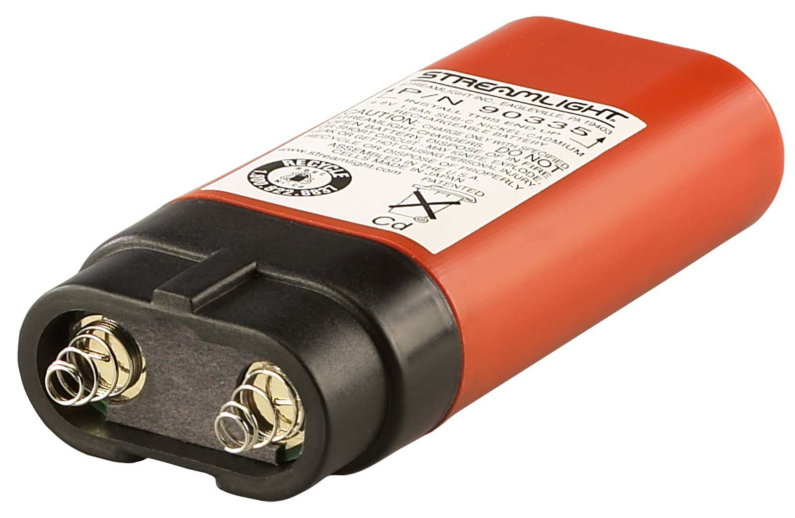Streamlight 91757 Knucklehead HAZ-LO Rechargeable Spot Light with 120-volt AC/12-volt DC Charger, Orange by Streamlight (Image #3)