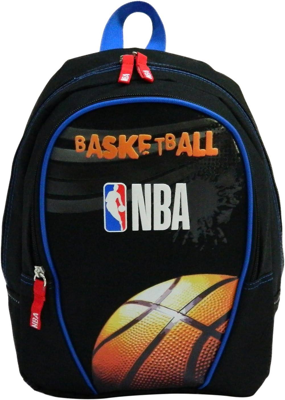 La Plume Dor/ée Sac /à Dos Junior 32cm NBA a 32 cm Mixte Enfant Noir