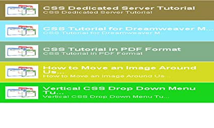 Css Tutorial In Pdf Format