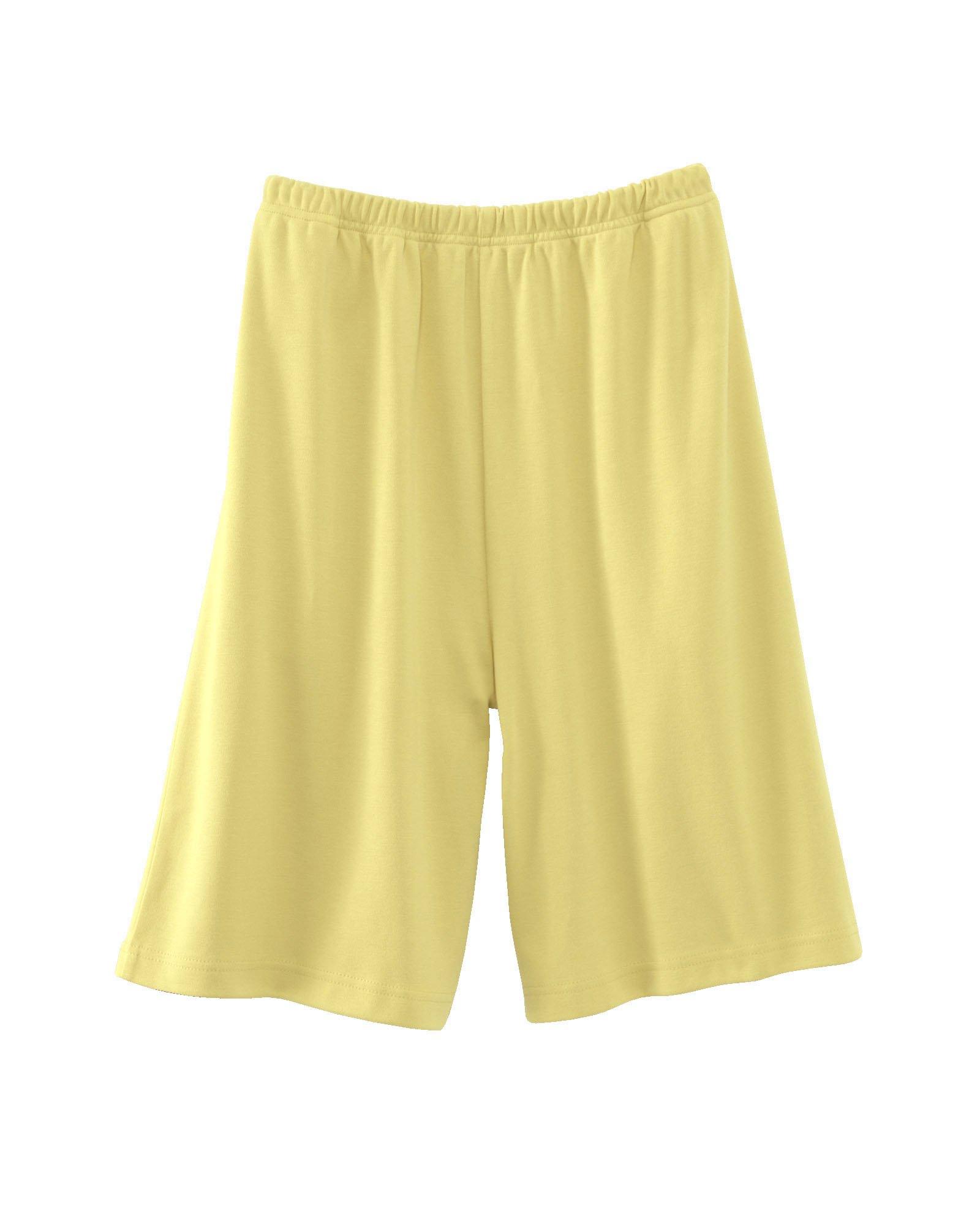 UltraSofts Knit Shorts, Butter, 3X