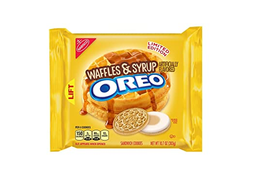 Oreo Waffles & Syrup Sandwich Cookies 10.7 Ounce