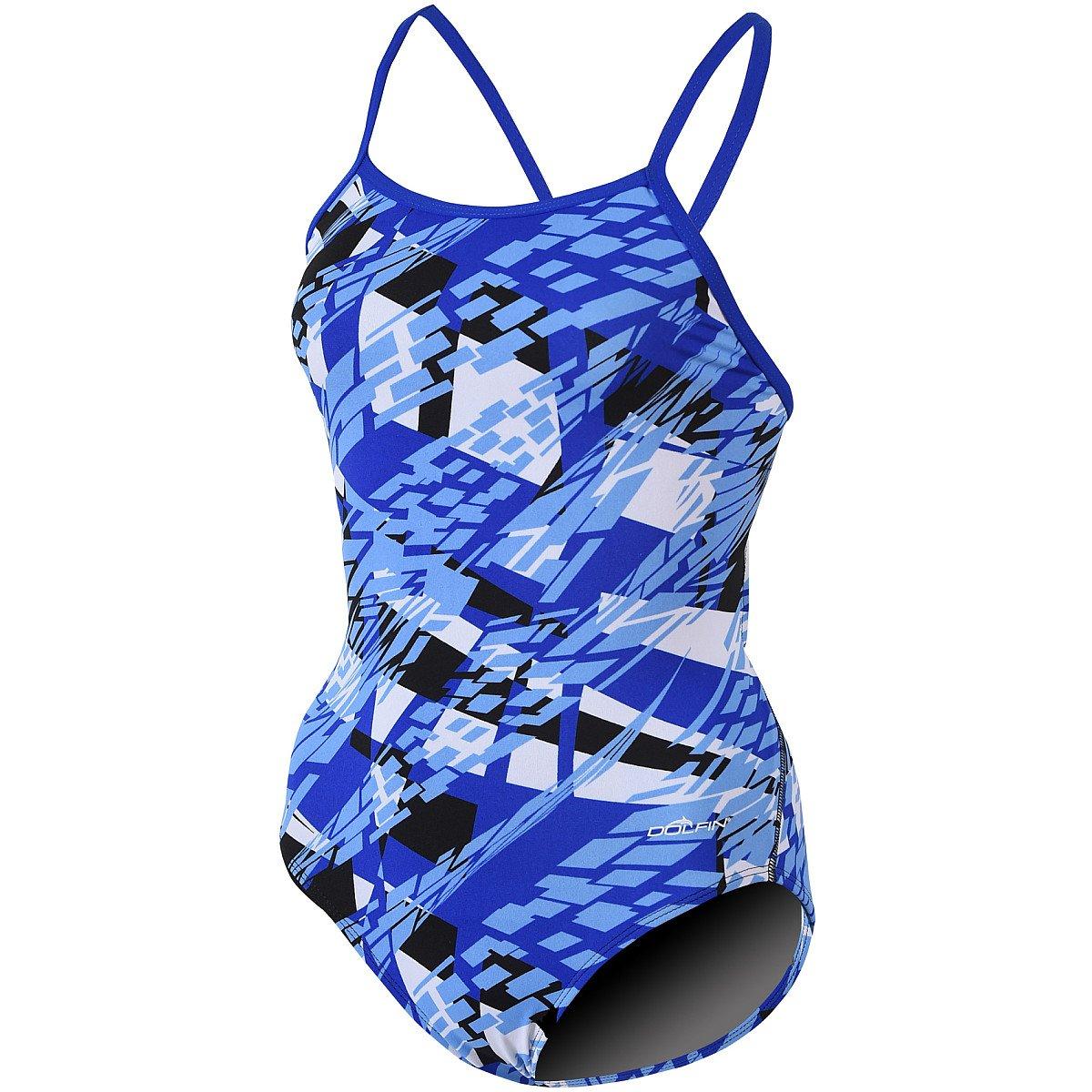 Dolfin Mädchen Zephyr Badehose Badeanzug – blau B01IQVRSUE Taschen Helle Helle Helle Farben 09a056