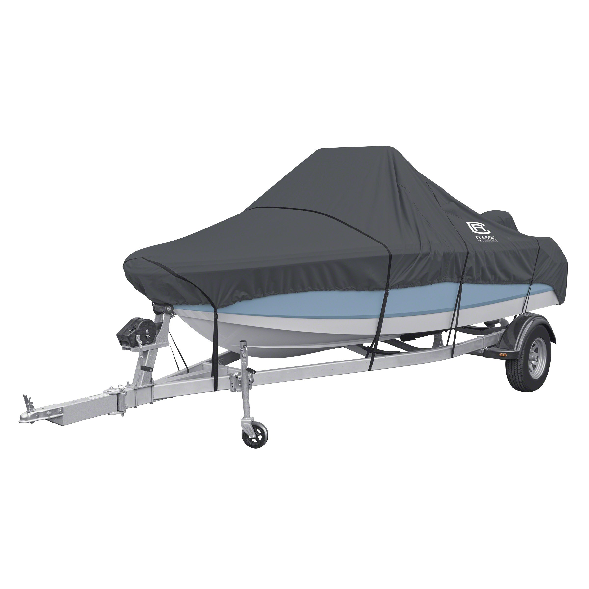 Classic Accessories StormPro Heavy Duty Center Console Boat Cover, For 17'-19' Long, Up to 102'' Beam Width by Classic Accessories