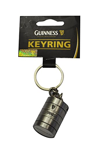 Amazon.com: Guinness barril llavero: Office Products
