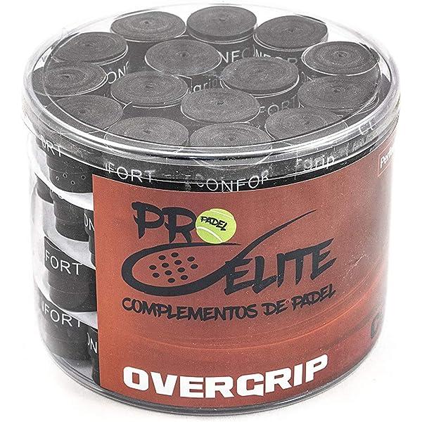 overgrips Pro Elite Confort Perforados Negros. Caja 10+2 ...