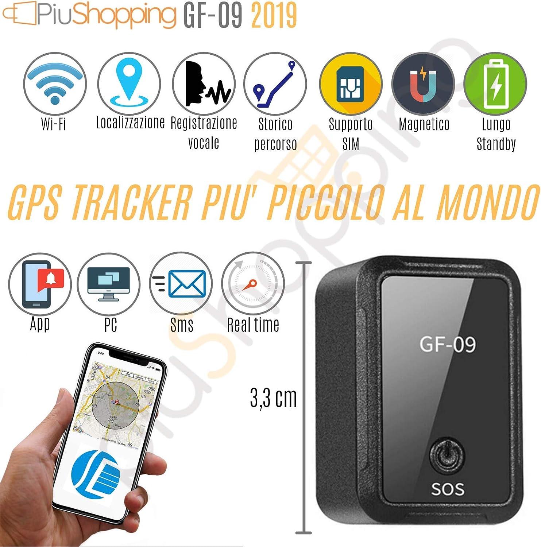 Rastreador de posición satélite GPS coche/moto espía con grabadora de voz magnética App: Amazon.es: Electrónica
