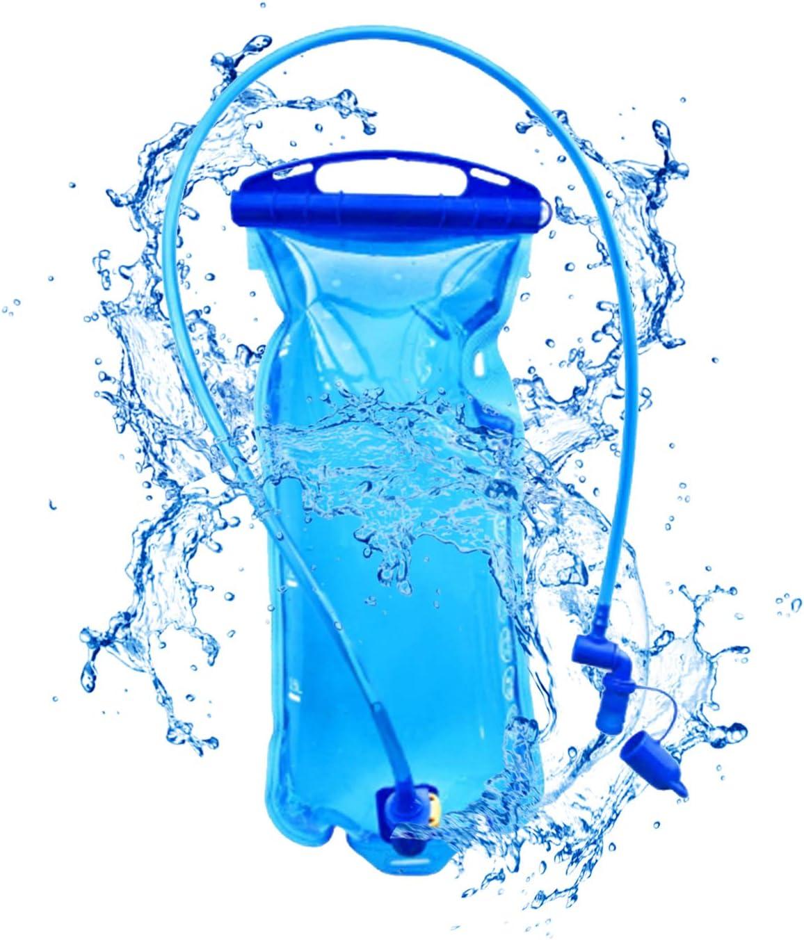 Sac hydratation Happylohas 2l Poche /à Eau hydratation Portable Poche a Eau pour Sport randonn/ée hydratation Eau vessie Camel Bag Camping