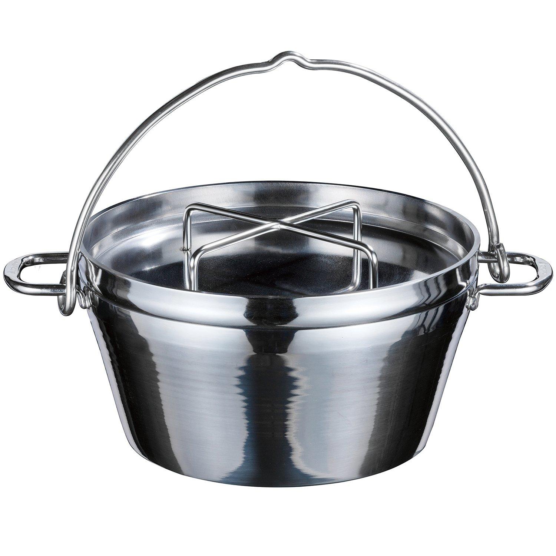ソト ミラー仕上ステンレスダッチオーブン10インチ