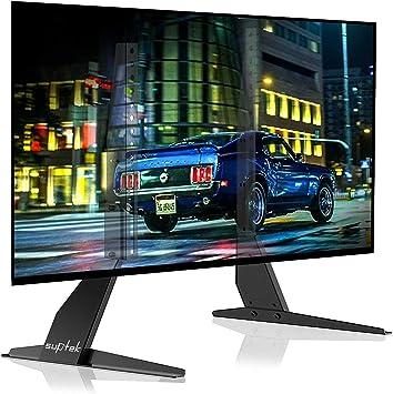Suptek Soporte de TV de Pedestal Universal, Soporte de Monitor de sobremesa para Pantalla Plana LCD LED de 23-42 Pulgadas, VESA MAX. 200x400mm ML1732: Amazon.es: Electrónica