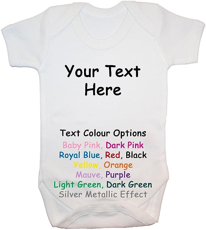 Acce Products GTR- diseño su Propio Texto Body para bebé ...