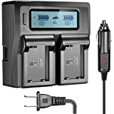 NP-FW50 NPFW50 Digita battery charger Brand New LCD display dual channel charger for sony & x3B1;7II & x3B1;6000 & x3B1;7RII & x3B1;6300 & x3B1;5100 & x3B1;7s & x3B1;7 & x3B1;7R & x3B1;7sII Camera