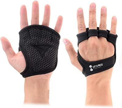 Support Alpha Cross-Training NH Weight-Lifting Workout Crossfit Fitness Gloves Power-Lifting Pull Up for Men /& Women Callus-Guard Gym Barehand Grips Rowing