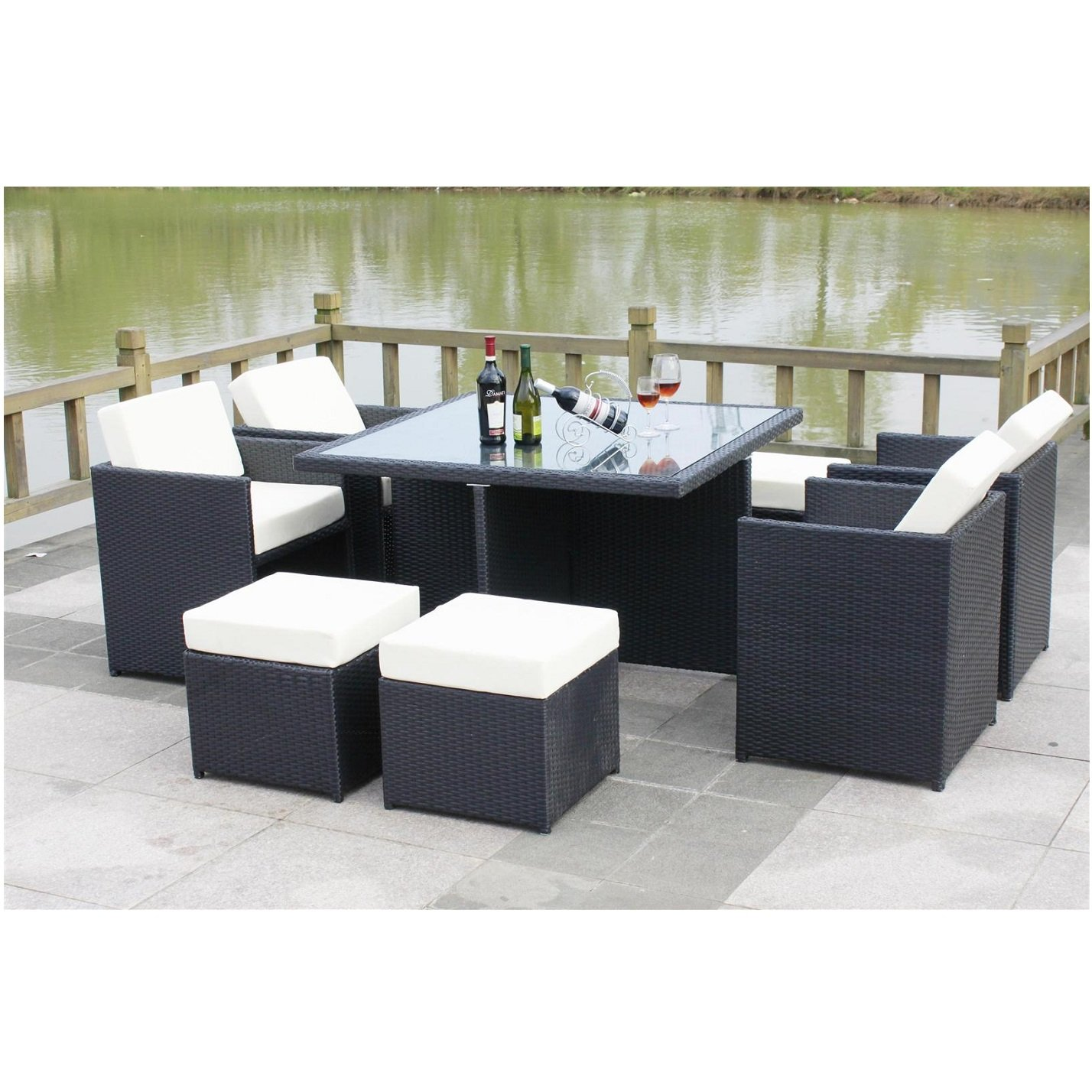 All Seasons Outdoor JT40s Rattan Garden Furniture Outdoor Patio