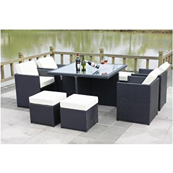 Excellent All Seasons Outdoor Jt40S Rattan Garden Furniture Outdoor Patio Set With Glass Table Summer Sale Home Interior And Landscaping Synyenasavecom