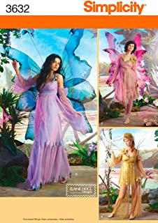 Simplicity Sewing Pattern 3632 Misses Costumes RR (14-16-18-20  sc 1 st  Amazon.com & Amazon.com: Simplicity Creative Patterns 1550 Missesu0027 Amy Brown ...