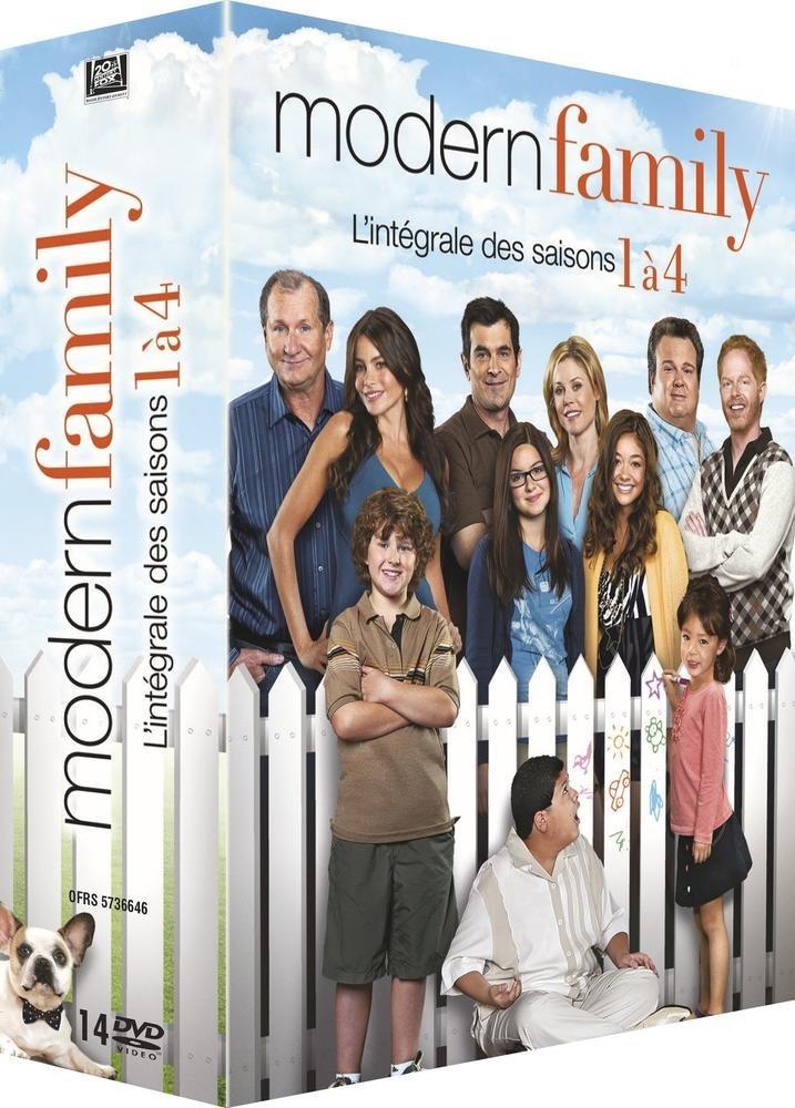 Modern Family , L\u0027intégrale des saisons 1 à 4 [Édition Limitée] DVD \u0026  Blu,ray  Amazon.fr
