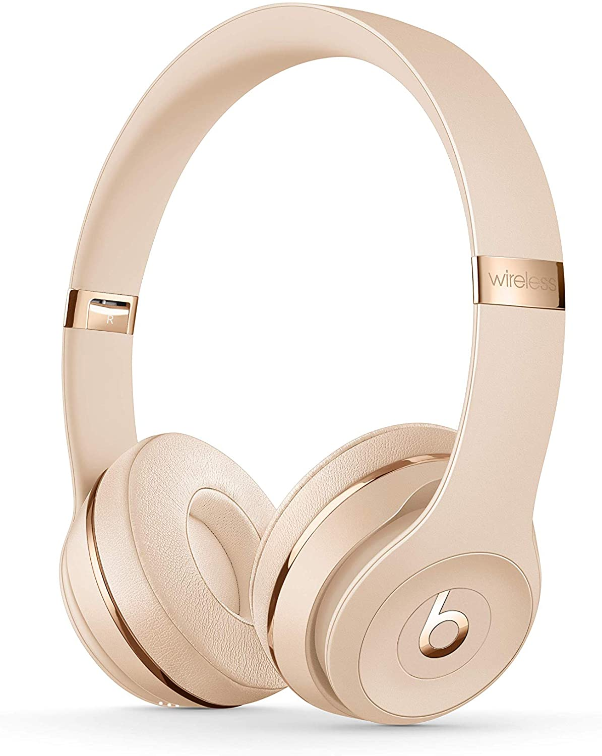 Amazon Com Beats Solo3 Wireless On Ear Headphones Apple W1 Headphone Chip Class 1 Bluetooth 40 Hours Of Listening Time Satin Gold Previous Model