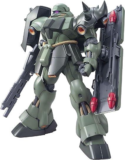 Amazon Com Bandai Spirits Mg Mobile Suit Gundam Char S Counter Attack Ams 119 Gila Doga 1 100 Scale Color Coded Pre Plastic Model Toys Games