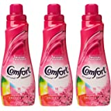 Comfort Concentrated Fabric Softener Orchid & Musk, 750 ml (Pack of 3)