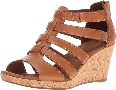 Rockport Women's Briah Gladiator Wedge Sandal