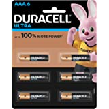 Duracell Ultra Alkaline AAA Batteries (Pack of 6)