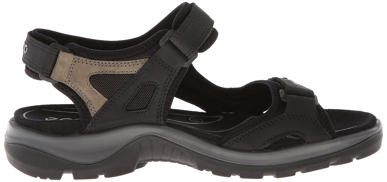 ECCO Women's Yucatan Sandal B000ZI5V10 36 EU (US Women's 5-5.5 M)|Black/Mole/Black