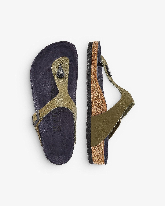 Birkenstock Women's Gizeh Asphalt Thong Sandals: Amazon.co