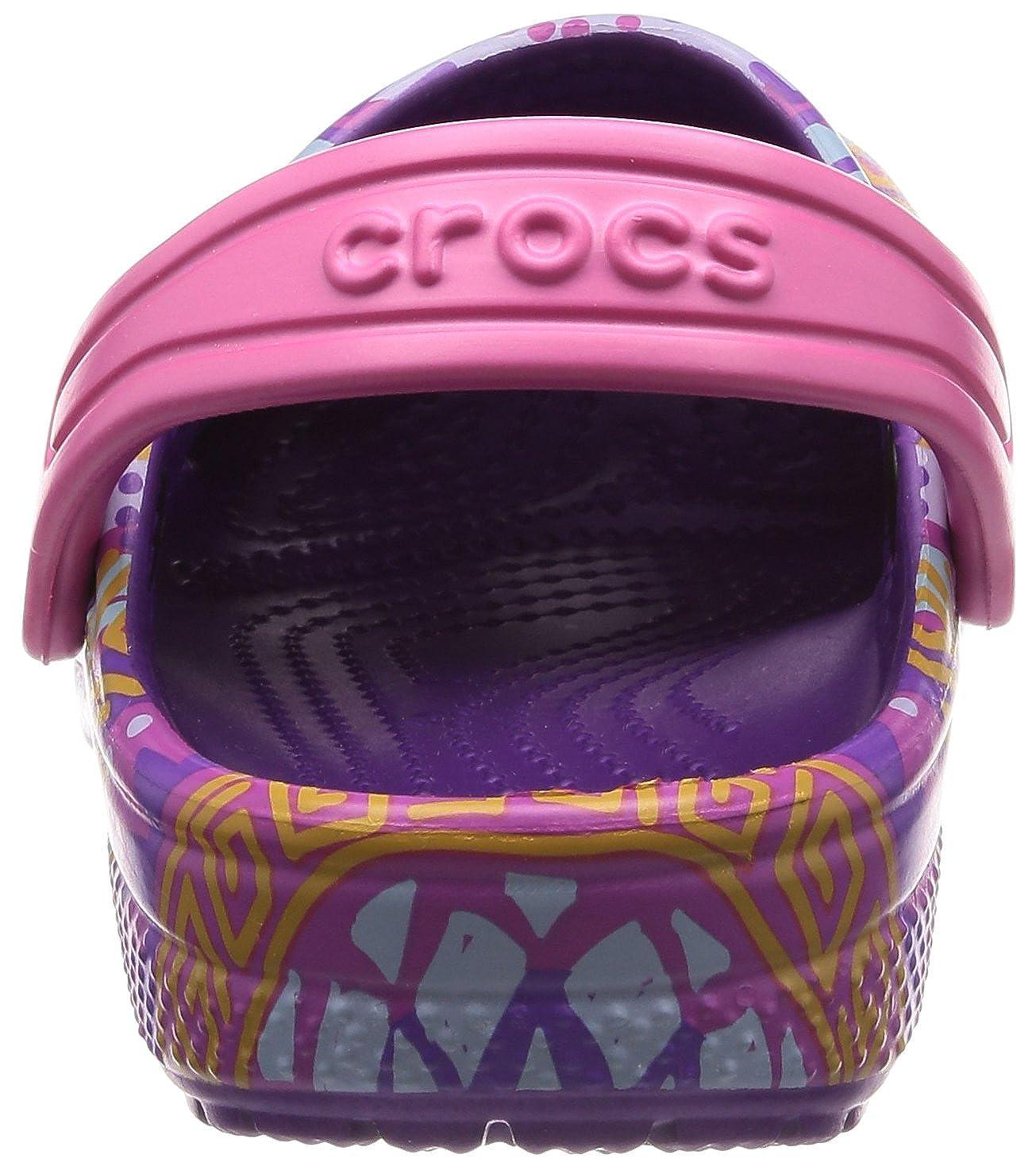 Bambini Crocs Classic Graphic Clog Kids Zoccoli Unisex
