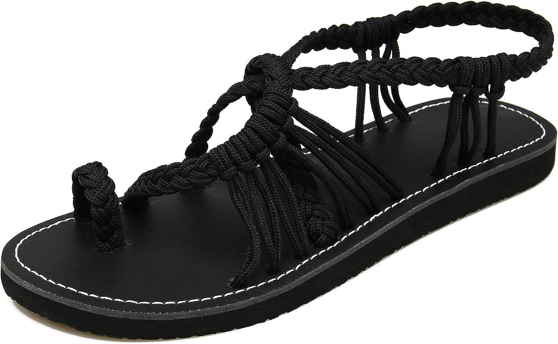 MEGNYA Women's Flat Sandals Fashion