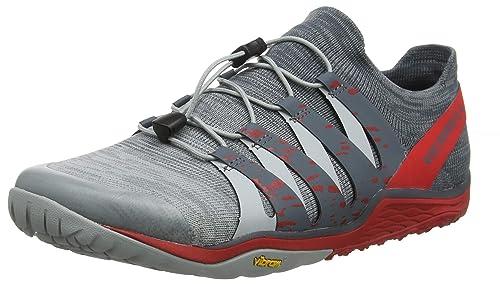 Amazon Com Merrell Men S Trail Glove 5 3d Ankle High Fabric