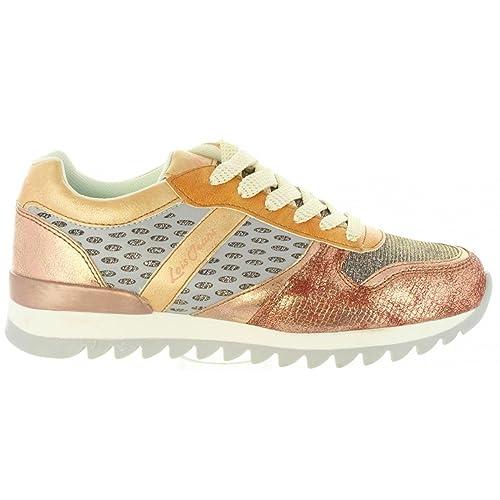 Zapatillas Deporte de Mujer LOIS JEANS 85607 432 Bronce: Amazon.es: Zapatos y complementos